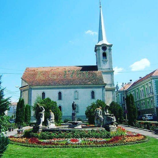 A város központ